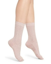 Treasure & Bond Marled Knit Crew Socks