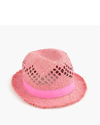J.Crew Girls Straw Fedora