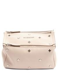 Givenchy Mini Pandora Studded Leather Crossbody Bag Pink