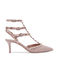 Valentino Garavani The Rockstud Leather Pumps