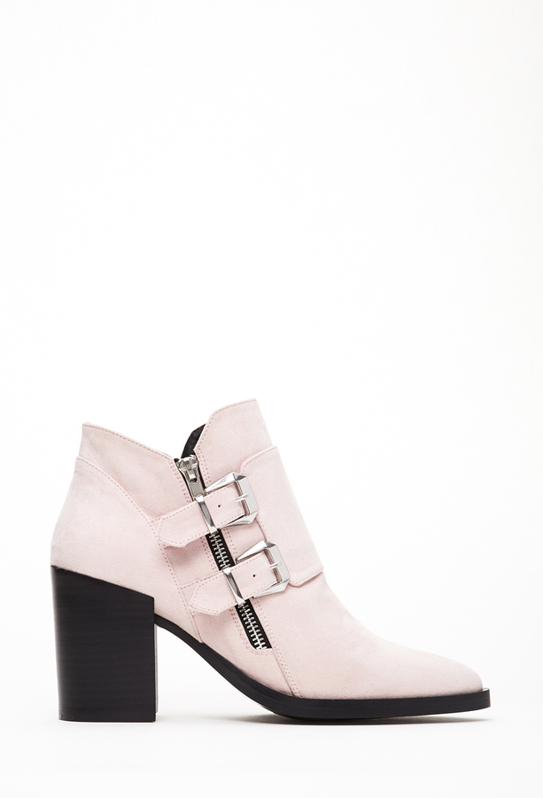 Pink Suede Ankle Boots Suede Ankle Boots Forever