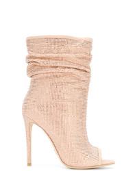 Gianni Renzi Open Toe Boots