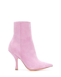 Y/Project Y Project Sock Ankle Boots
