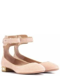 Aquazzura Lucky Star Suede Ballerinas