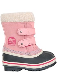 Sorel Waterproof Suede Boots