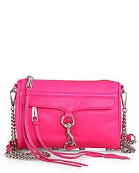 Rebecca Minkoff Mini Mac Pebbled Leather Convertible Crossbody Bag