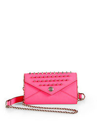 Rebecca Minkoff Mini Studded Chain Wallet