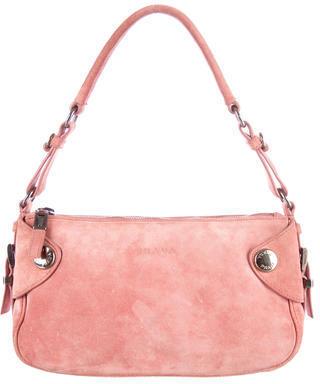 prada messenger crossbody bags sale - Prada Suede Handle Bag | Where to buy \u0026amp; how to wear