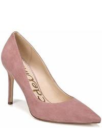 Sam Edelman Hazel Suede Pointed Toe Pumps