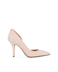 f9e19f11ac5 Women's Pink Suede Pumps by MICHAEL Michael Kors | Women's Fashion ...