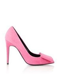 Pierre Hardy Suede Pumps Pink
