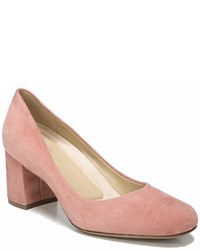 Naturalizer Whitney Suede Block Heel Pumps