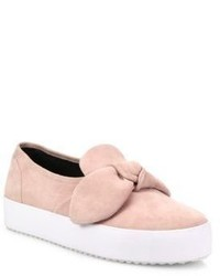 Rebecca Minkoff Stacey Suede Slip On Sneakers