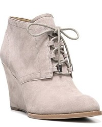 Franco Sarto Lennon Lace Up Wedge Bootie