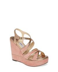 Jimmy Choo Alissa Platform Wedge Sandal