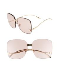 Gucci 99mm Rimless Sunglasses