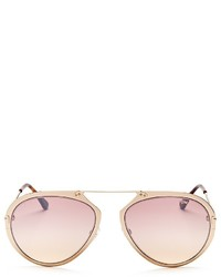 Tom Ford Aviator Sunglasses 57mm