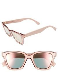 Fendi Be You 50mm Gradient Sunglasses Pink