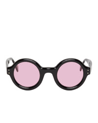 Gucci Black And Pink Gg0871s Sunglasses