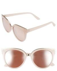 55mm Cat Eye Sunglasses Light Pink