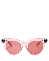 Christopher Kane Cat Eye Acetate Sunglasses
