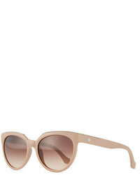 Balenciaga Cat Eye Acetate Sunglasses Rose