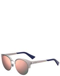 Christian Dior Dior Dioramamini Semi Rimless Mirrored Sunglasses