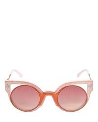 Fendi Glitter Acetate Cat Eye Sunglasses