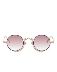 Matsuda Gold And Pink 10601h Sunglasses