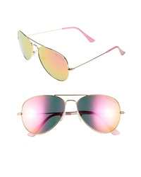 Lilly Pulitzer Lexy 59mm Polarized Aviator Sunglasses