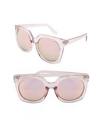 NEM Melrose 55mm Square Sunglasses