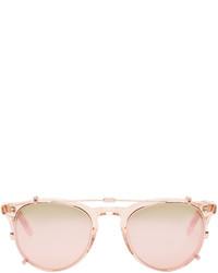 Pink clip on milwood sunglasses medium 600232