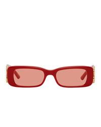 Balenciaga Red Dynasty Sunglasses
