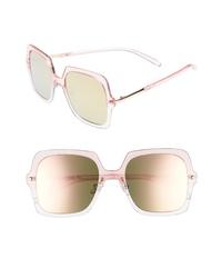 BP. Translucent Square Sunglasses
