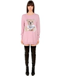 Wool sweater dress w cardboard bear medium 4418451