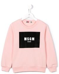 MSGM Kids Logo Sweatshirt