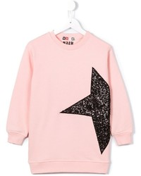 MSGM Kids Sequined Star Sweatshirt