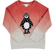 Little Marc Little Marc Penguin Appliqu Sweatshirt