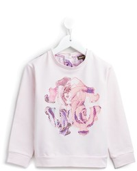 Roberto Cavalli Kids Logo Patch Sweatshirt