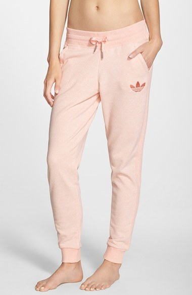 innovative design bf715 1a105 ... Pink Sweatpants adidas Originals Slim Track Pants ...