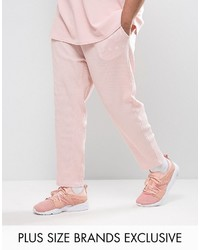 Puma Plus Waffle Joggers In Pink To Asos