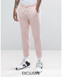 Puma Waffle Joggers In Pink To Asos