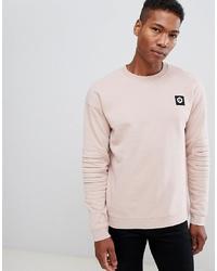 Jack & Jones Core Sweatshirt With Biker Sleeve Detail