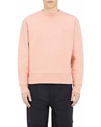 Acne Studios Fairview Emoji Face Cotton Sweatshirt