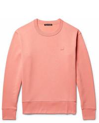 Acne Studios Fairview Fleece Back Cotton Jersey Sweatshirt