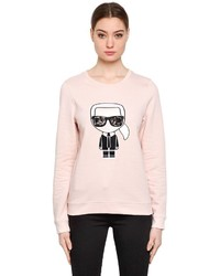 Karl Lagerfeld Karl Ikonik Cotton Sweatshirt