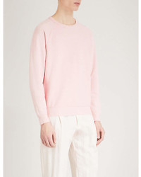 Les Basics Le Crew Cotton Jersey Sweatshirt