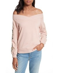 Rebecca Minkoff Macey Embroidered Sweatshirt