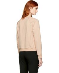 Carven Pink Studs Sweatshirt