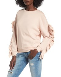 Ruffle sleeve sweatshirt medium 5256017
